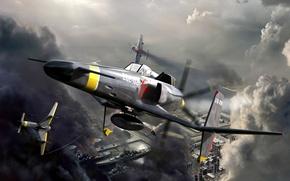 Картинка fighter, sky crawlers, shankamkb