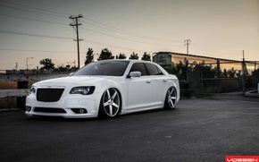 Картинка silver, matte, Chrysler 300 C vvs, machined, 22x9, 22x10, 5-7648-b, cv3