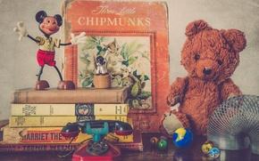 Картинка toys, childhood, books
