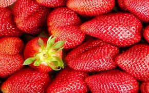 Картинка ягоды, клубника, red, красная, fresh, спелая, sweet, strawberry, berries