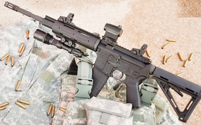 Картинка гильзы, карабин, AM15-M416, Anderson Manufacturing, 5.56