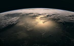 Обои Земля, Home, Дом, Earth, Планета, Облака