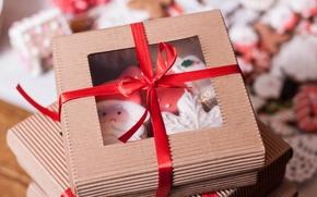 Картинка праздник, коробка, подарок