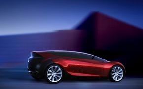 Обои Concept, красный, спорт, скорость, Mazda, Ryuga