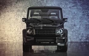 Обои mercedes-benz, g55, gelandewagen, g class, перед, front