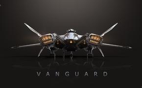 Картинка Star Citizen, space ship, Vanguard