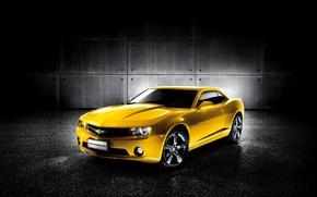 Картинка Chevrolet, Camaro, шевроле, 2011, камаро