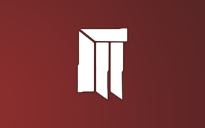 Картинка красный, логотип, rongen