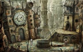 Картинка игры, робот, amanita design, Машинариум