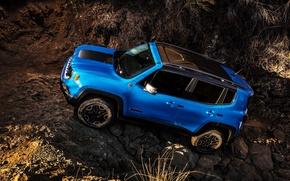 Картинка джип, Jeep, Trailhawk, 2015, Renegade