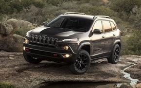 Картинка car, внедорожник, suv, Jeep, 2013, Cherokee, Trailhawk