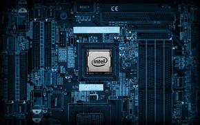 Картинка intel, motherboard