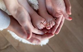 Картинка руки, кольца, любовь, ребенок