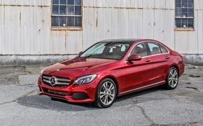Картинка Mercedes-Benz, мерседес, 2015, W205, C 350