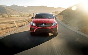 Картинка Mercedes-Benz, мерседес, AMG, амг, C292, GLE-Class