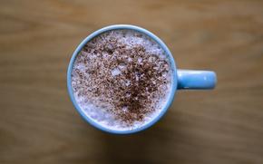 Картинка cup, chocolat, coffee, milk