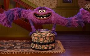 Картинка мультфильм, Disney, Pixar, дисней, disney, пиксар, Monsters University, Корпорация монстров, Университет монстров, pixar.