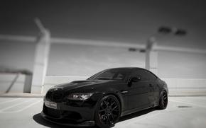 Картинка BMW, black, e92