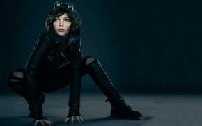 Картинка Selina Kyle, Готэм, 2014, Gotham, The good, The beginning, The evil, Camren Bicondova