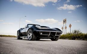 Картинка corvette, chevrolet, cars, auto, 1970, wallpapers auto, Tuning cars, Tuning auto, chevrolet corvette