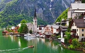 Картинка Salzkammergut, Austria, Town