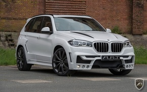 Картинка BMW, White, Tuning, BMW X5, Widebody, 2015, BMW Tuning, ART BMW, BMW Widebody, 2015 ART …