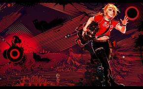 Картинка девушка, красный, стиль, бег, Селеста, Mirrors Edge