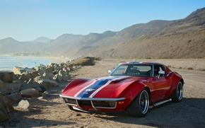 Картинка Corvette, Chevrolet, 1969, Coupe, Stingray