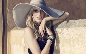 Обои шляпа, платье, Caroline Winberg