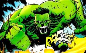Картинка ярость, Халк, Hulk, Marvel Comics