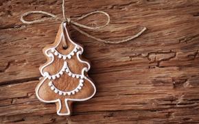 Картинка праздник, Новый Год, печенье, Рождество, Christmas, New Year