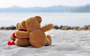 Картинка Teddy, любовь, romantic, bear, sweet, toy, love, heart, мишка