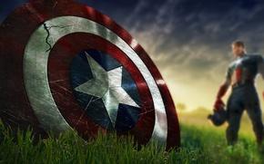 Картинка щит, marvel, комикс, captain america, первый мститель, мстители, Капитан америка