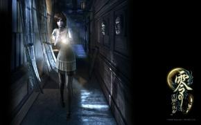 Картинка ночь, страх, жертва, потустороннее, Fatal Frame, маска ужаса, Ruka Kunizaki