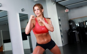 Обои fitness, training, girl