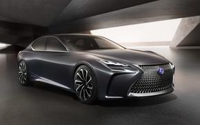 Обои LF FC, концепт, седан, лексус, Concept, Lexus