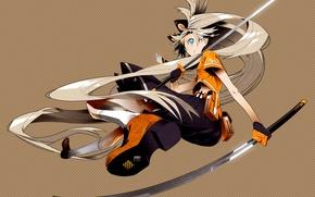 Картинка девушка, меч, vocaloid, ушки, вокалоид, Seeu