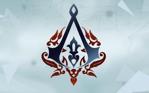 Картинка знак атаманов, анимус, assassins creed