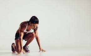 Картинка pose, workout, sportswear, athletics