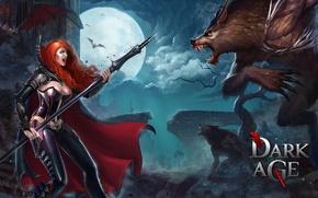 Картинка вампир, Dark Age, летучая мышь оборотни