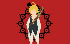 Картинка red, game, fighter, soldier, anime, man, dragon, captain, blonde, asian, warrior, manga, japanese, Knight, medieval, …