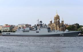 "Картинка корабль, Санкт-Петербург, фрегат, сторожевой, ""Адмирал Эссен"""