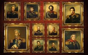 Картинка Brad Pitt, Clint Eastwood, Russell Crowe, 1812, Alan Rickman, Morgan Freeman, Leonardo DiCaprio, Bill Murray, …