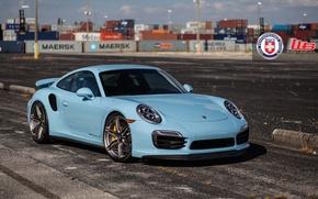Картинка Porsche, Turbo, 991, HRE, P106