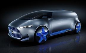 Картинка Mercedes-Benz, концепт, Tokyo, Vision, мерседес
