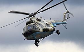 Обои вертолет, Украина, лопасти, Ми 8