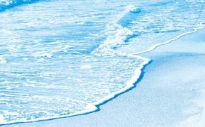 Обои волна, широкоформатные, широкоэкранные, фон, природа, widescreen, HD wallpapers, обои, море, вода, полноэкранные, голубой, background, wallpaper, ...