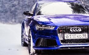 Картинка Audi, RS6, Audi RS6, DC Tuning, mila skidanchuk, Audi RS6 Dark Blue Chrome by DC …