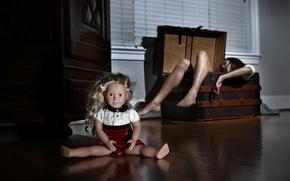 Картинка девушка, ситуация, bad doll