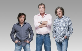 Картинка обои, джинсы, Top Gear, wallpaper, журналисты, Discovery, мужчины, топ гир, Джереми Кларксон, Ричард Хаммонд, приколисты, …